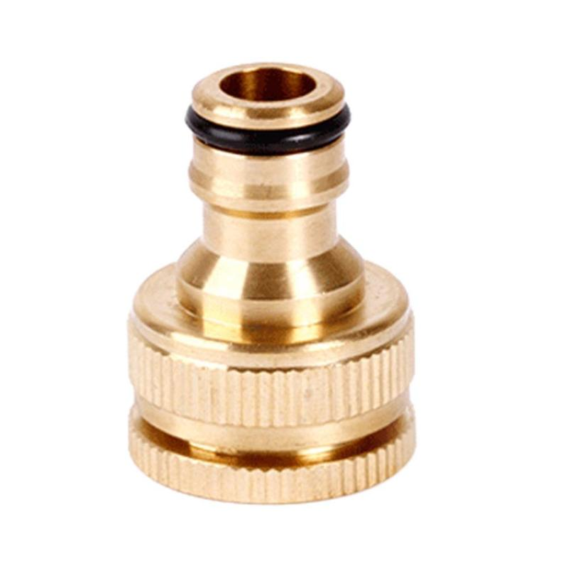 Quick Connect Fitting Pipe Brass Faucets Standard Connector Washing Machine