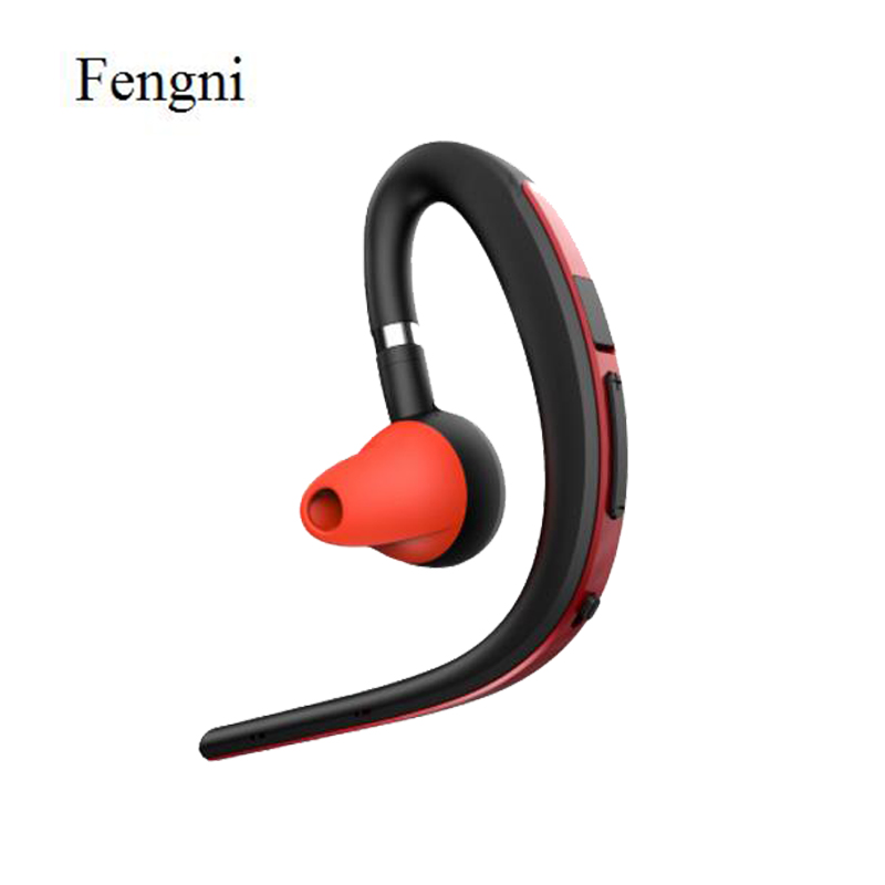 Handsfree Business Bluetooth Headphone With Mic Voice Control Wireless Bluetooth Headset For