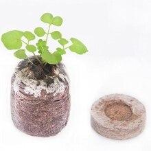 30 мм почвенные блоки гранулы выращивание рассады Вилки семена почвенный блок саженец блок Профессиональный Легко Применение 6/15 шт