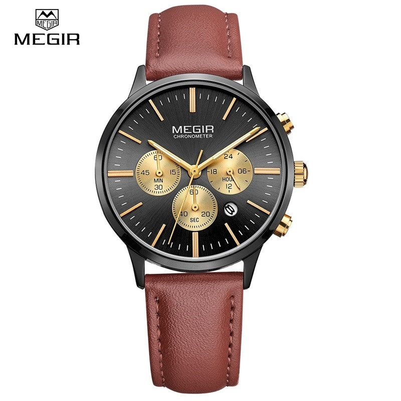 Luxury Women Watches Brand MEGIR Fashion Sport Ladies Lovers Quartz Watch Clock Relogio Feminino for Female Gift Wristwatches rigardu fashion female wrist watch lovers gift silicone band creative wristwatch women ladies quartz watch relogio feminino 25
