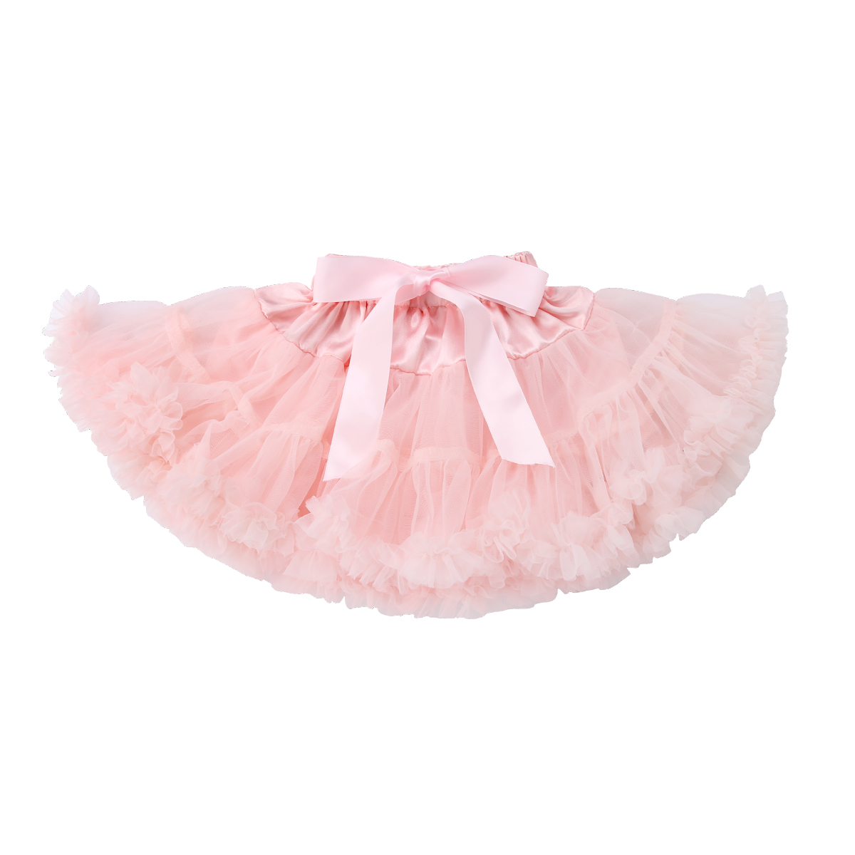 new cute Kids Girls Skirt Princess Pleated Fluffy skirt Petti bow lace skirt Party Dance Tutu skirt knot side pleated skirt