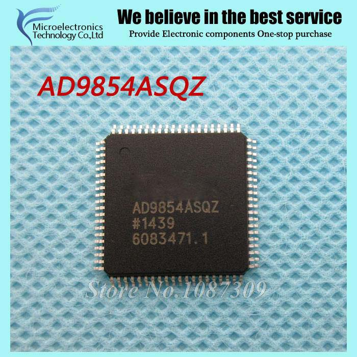 2PCS free shipping AD9854ASQZ AD9854 QFP-80 Data Acquisition ADCs/DACs - Specialized 300 MHZ QUADRATURE DDS SYNTHESIZER PB2PCS free shipping AD9854ASQZ AD9854 QFP-80 Data Acquisition ADCs/DACs - Specialized 300 MHZ QUADRATURE DDS SYNTHESIZER PB