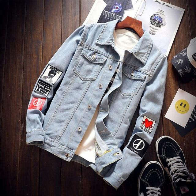 Hip Hop Denim Jacket 3