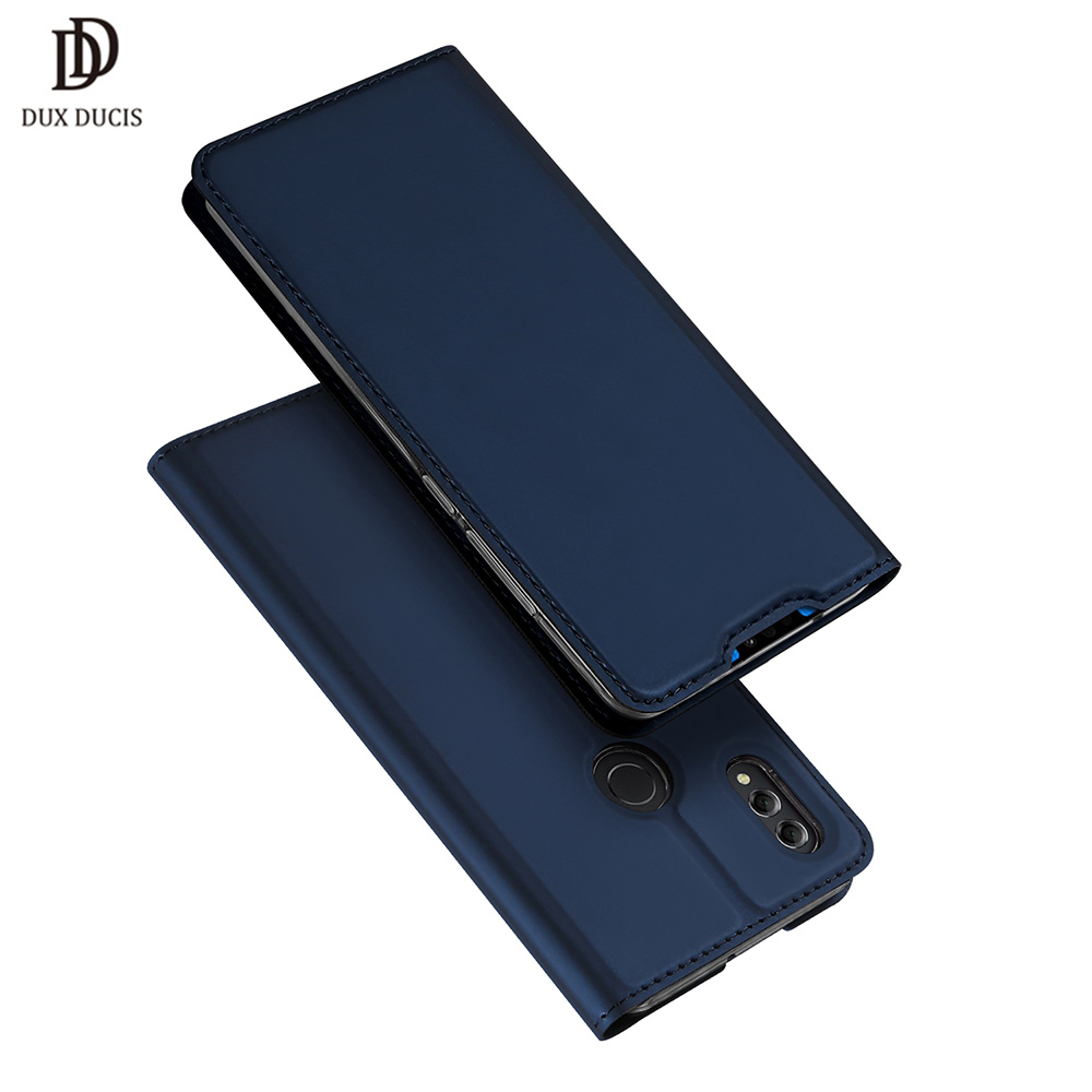 Huawei Honor 8X Case DUX DUCIS Luxury Flip Leather Wallet Book Cover Case for Huawei Honor
