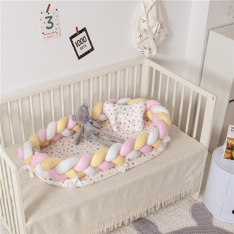 2019 nouveau Portable bébé couffin pour lit bébé chaise longue pour nouveau-né bébé berceau respirant et sommeil nid oreiller