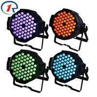 ZjRighrt 4pcs Lot 90W Colorful 54 LED Par Light DMX512 Sound Control PRO LED Stage Light