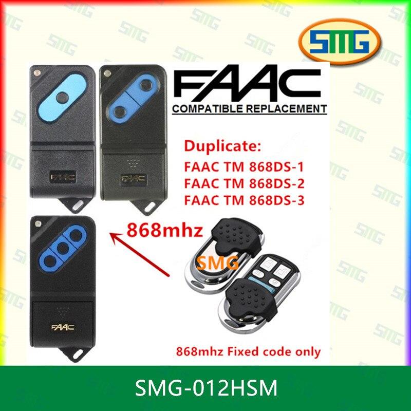 Scimagic Бесплатная доставка faac ТМ 868DS-1, ТМ 868DS-2, ТМ 868DS-3 Замена дистанционного 868 мГц X 5 шт.