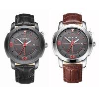 Luxury 2017 Smart Watch Men Waterproof Sport Watch Leather Quartz Man Clocks Horloges Mannen