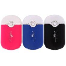 Summer Office Mini Pocket USB Fan Air Conditioning Fan Rechargeable Portable USB Gadget Fan ventilateur 400 ma Housing Eletric