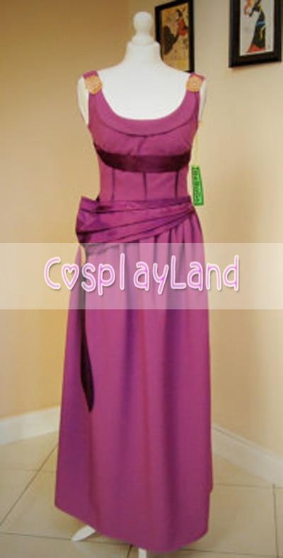 Megara From Hercule Cosplay Dress Megara Cosplay Costume Halloween Party Cosplay Costume Custom Made For Adult Women Dress