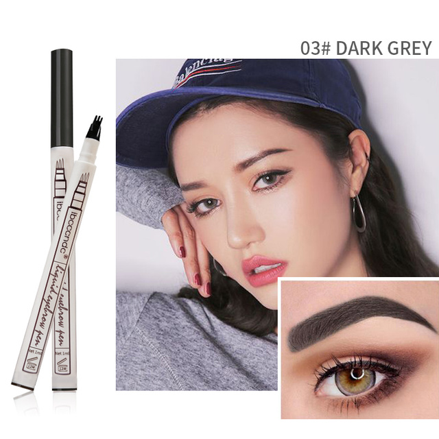 3 Colors Microblading Eyebrow Tattoo Pen Fine Sketch Liquid Eyebrow Pen Waterproof Tattoo Durable Eye Brow Pencil Smudge-proof 5