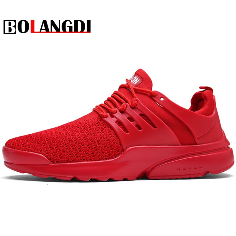 Bolangdi Men Running Shoes Most Popular Breathable Men's Run Shoes Outdoor Ultra-light Comfortable Walking Sport Sneakers Shoes