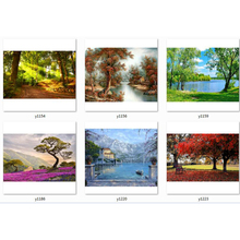 5d diamond painting landscape woods scenery embroidery