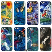 Marc Chagall painting Ultra Thin TPU Soft phone cover case For Samsung Galaxy S3 S4 S5 S6 S7 edge S8 S9 Plus mini Note 3 4 5 8