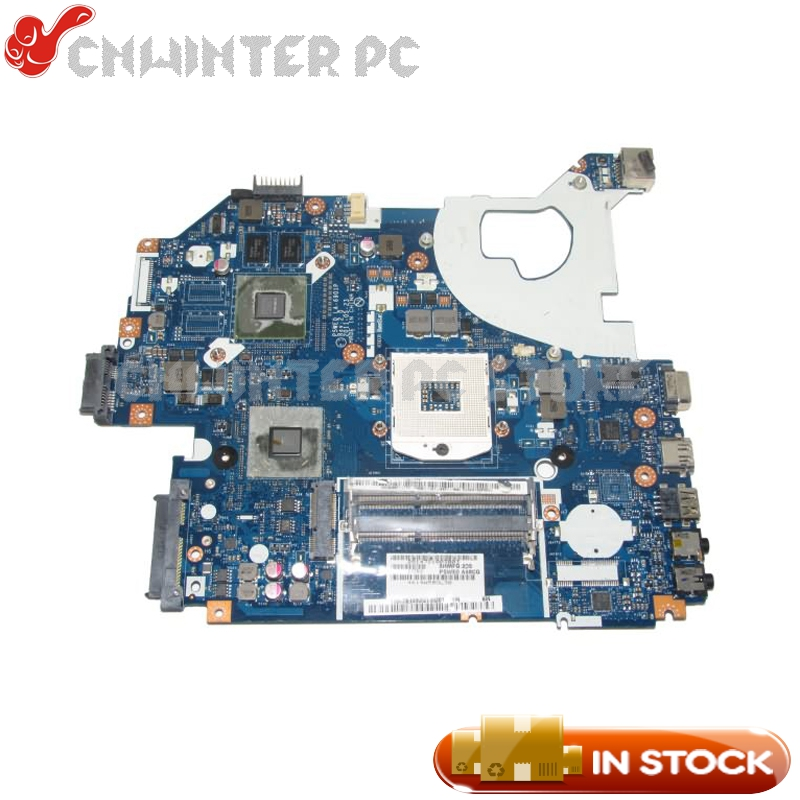 NOKOTION MBBYL02001 MB.BYL02.001 For Acer aspire 5750 5750G Laptop Motherboard P5WE0 LA-6901P HM65 DDR3 GT610M 2gb p5we0 la 6901p mbrcg02006 for acer aspire 5750 5750g 5755g laptop motherboard non integrated working pretty well