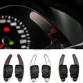 Steering wheel shift dial DSG paddle extension for VW Golf 6 GTI Jetta MK6 R R20 Passat CC R36 EOS SCIROCCO Carbon Fib