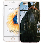 Coque Horse The Vikings Phone Cases for iPhone 10 X 7 8 6 6S Plus 5S 5 SE 5C 4S 4 iPod Touch 6 5 Case Clear Soft Silicone Cover.