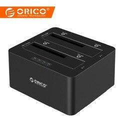 ORICO 6629US3 2-отсек внешний жесткий диск Док-станция USB3.0 SATA 2,5 3,5 в с форума клон Поддержка протокола UASP 16 ТБ
