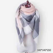 cycle zone 2018 Winter Multicoloured Triangle Women Scarves
