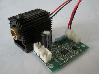 цена на NEW 532nm 200mW Green Laser Module with Driver (808nm/532nm&660nm + TTL) +heat sink