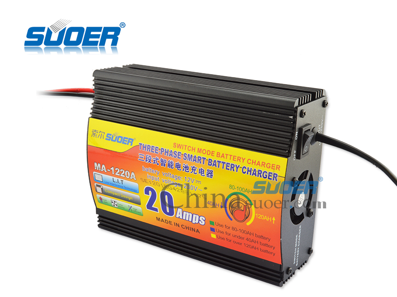 Suoer Best Price Universal Battery Charger 20a 12v Car Ma 1220a In Ac Dc Adapters From Home Improvement On Aliexpress Alibaba Group