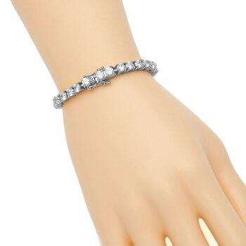 Bracelet Chaine Cristal De Roche