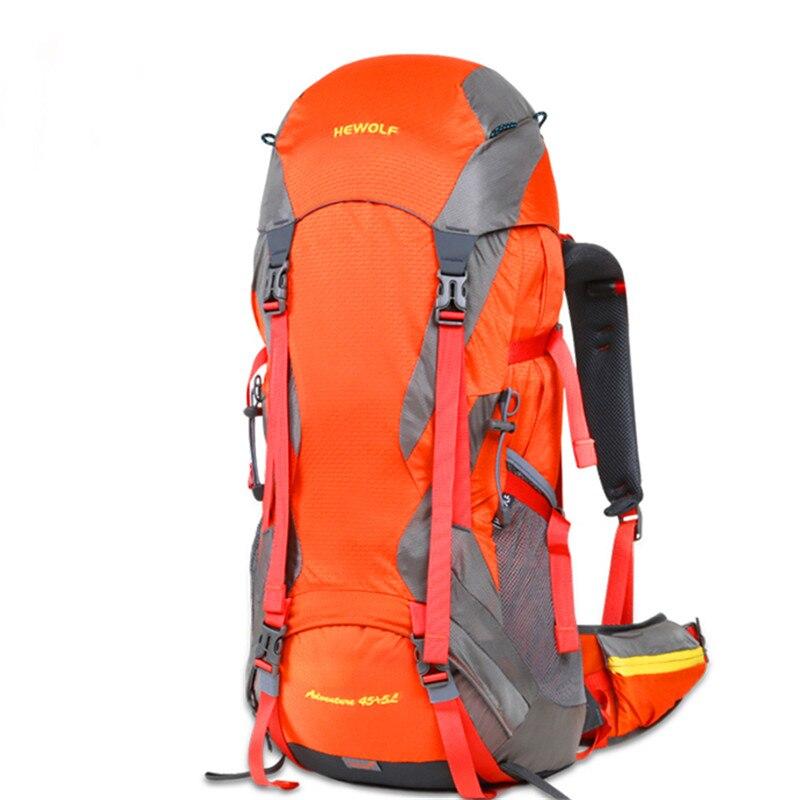 50L capacité randonnée sac à dos escalade sac voyage sac à dos Camping équiper Trekking sac à dos hommes femmes Sports de plein air sacs