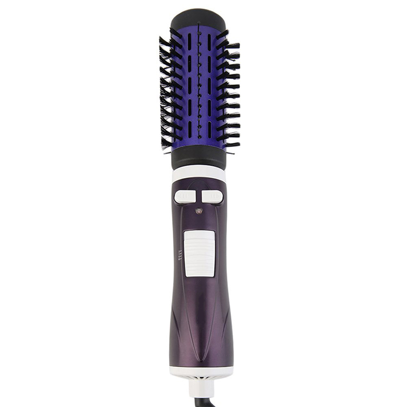 Round Hair Brush Electric Salon Styling Tools Hair Curler Curly Hairbrush Roller Comb Auto Rotation 2017 new hot sale professional salon ptc heating white color ceramic negative ions steam automatic hair curler hair style tools