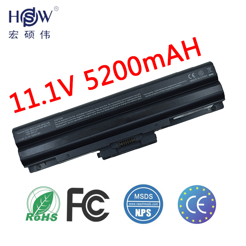 HSW laptop battery for SONY VAIO VGN CS60 VGN CS90 VGN FW VGN FW20 VGN FW30 VGN FW40 VGN FW80 VGN FW90 in Laptop Batteries from Computer Office