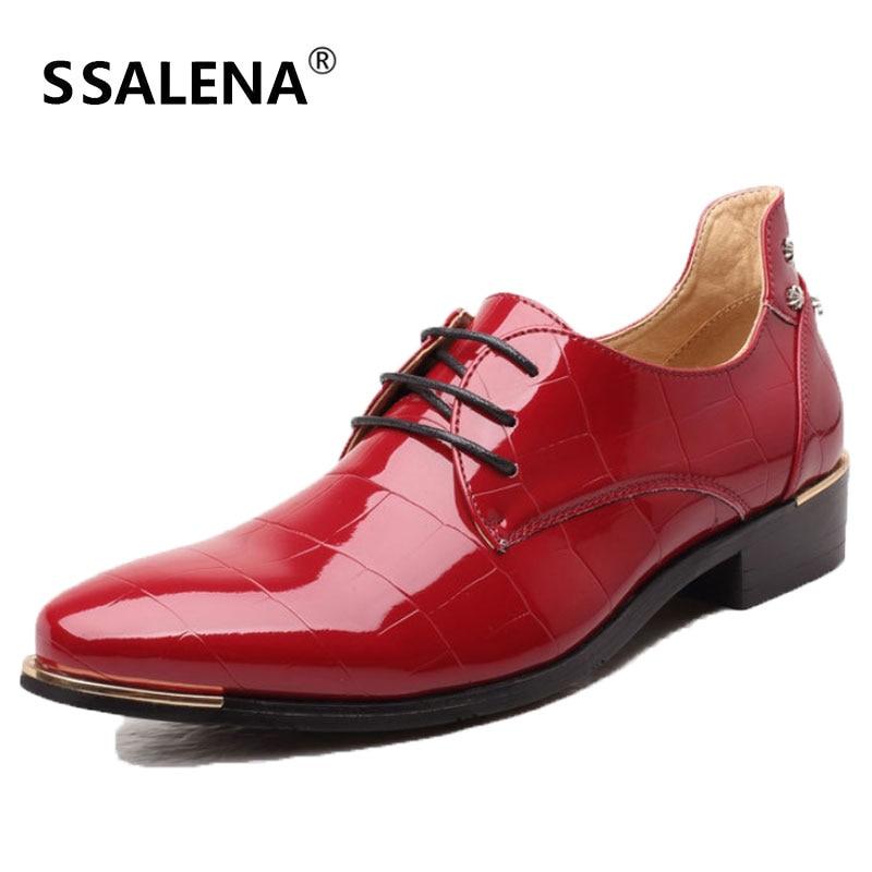 Le De Cuir Printemps En Aa10031 Noir rouge Pour bleu Hommes Oxford Automne Chaussures Respirant Travail Robe wCSIxw