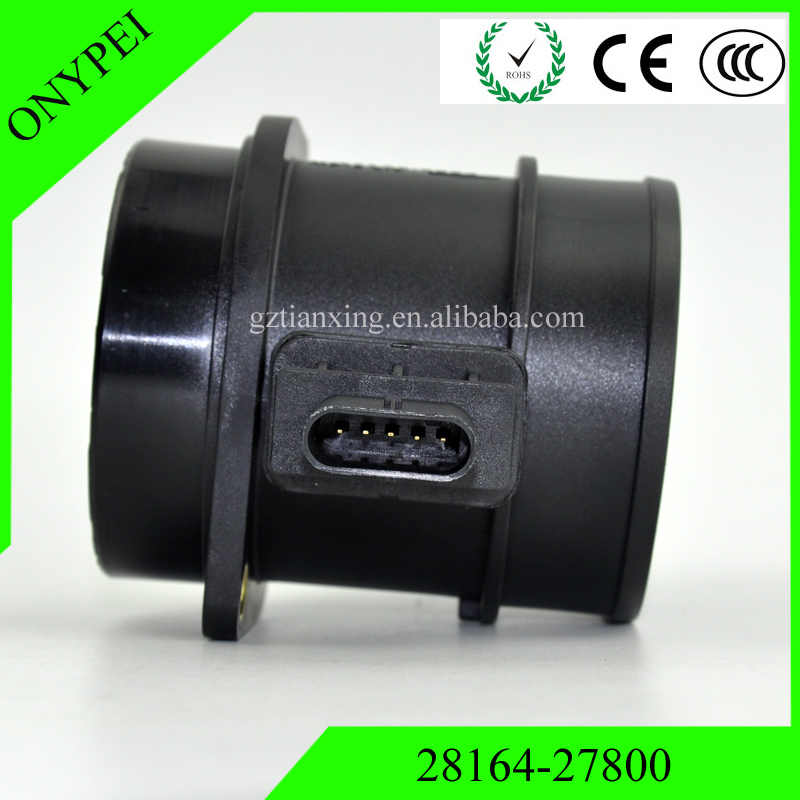 28164-27800 de 0281002721 MAF en masa medidor, sensor de flujo de aire para KIA HYUNDAI 2816427800