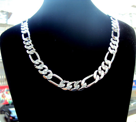 silver store necklace chain italian italy price wholesale factory chains bright plated style product inch necklaces lot box