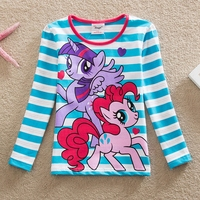 Retail 2017 New Style Stylish And Comfortable Lovely My Little Pony Pattern 100 Cotton Girls Long