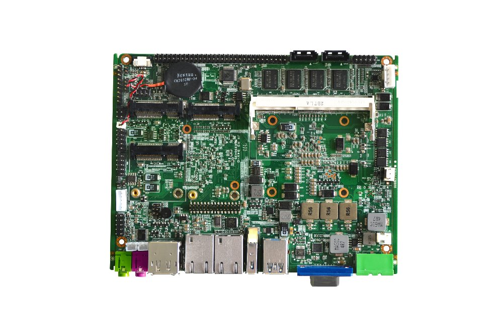 cheap price Fire wall Mini FANLESS industrial motherboard with <font><b>I5</b></font> CPU <font><b>2430M</b></font> & RAM (PCM3-QM77) image