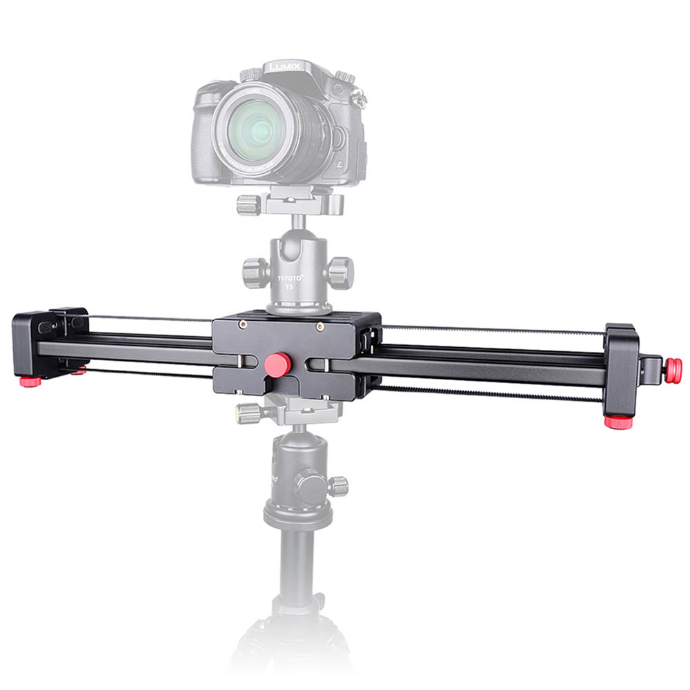 bilder für Neue Tragbare DSLR Videokamera Slider 500mm Doppel Palette Reise Dolly Slider für SLR Kamera DV Camcorder Fotografie Video Film