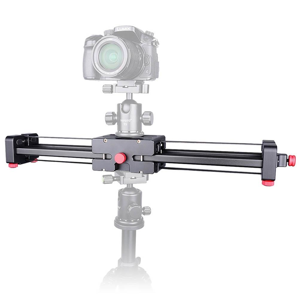 New Portable DSLR Video Camera Slider 500mm Double Range Travel Dolly Slider for SLR Camera DV