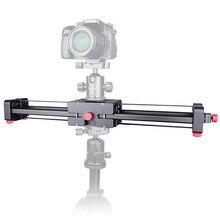 Новый портативный DSLR камера видео ползунок 500 мм Двойной диапазон путешествия Долли слайдер для зеркальной камеры видеокамера фотографии видео пленка