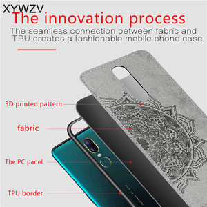 Image 5 - For OPPO A9 Case Shockproof Cover Soft Rubber Silicone Luxury Cloth Texture Phone Case For OPPO A9 Back Cover For OPPO A9 Fundas