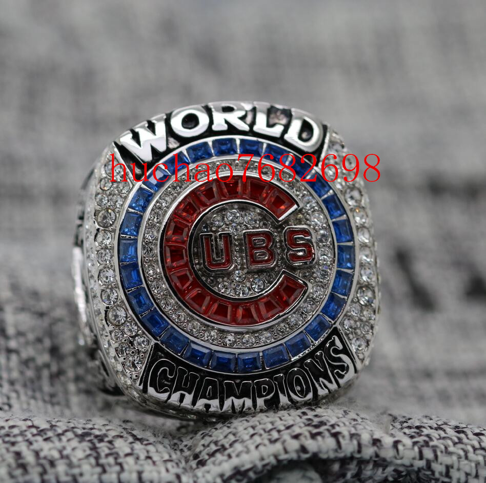 2016 Chicago Cubs World Seires Championship Ring (Anthony Rizzo) Billy Goat inside ,Team Score and WE NEVER QUIT специальный пылезадерживающий мешок для пылесосов billy goat серии mv арт 840263