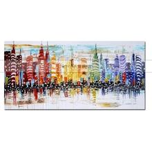canvas Painting ART Original Handmade Cuardros decoracio Modern Abstract Oil Canvas Wall Art Gift for Living Room Decor