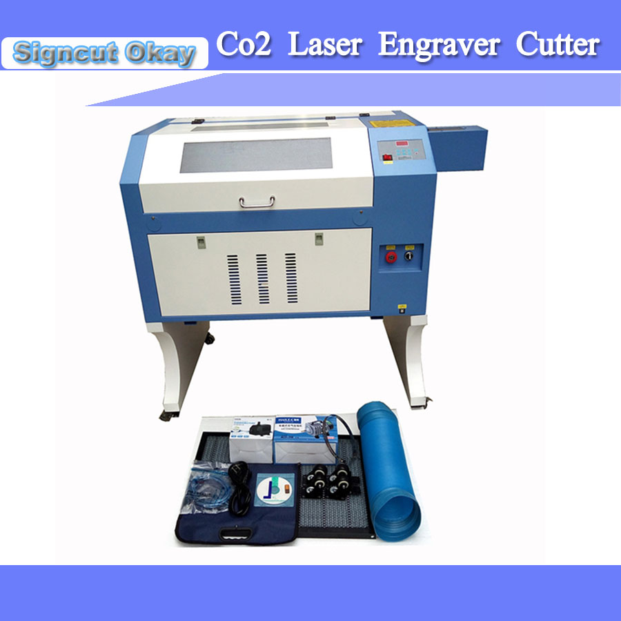 Free Shipping Laser Engraver Cutter Machine With Different Power 50/60/80/90W Co2 Cnc Laser Engraving Machine