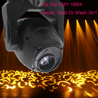 6pcs/lot led 230w spot beam wash 3in1 moving head light for large stage nightclub concert tours one off events and festival stag
