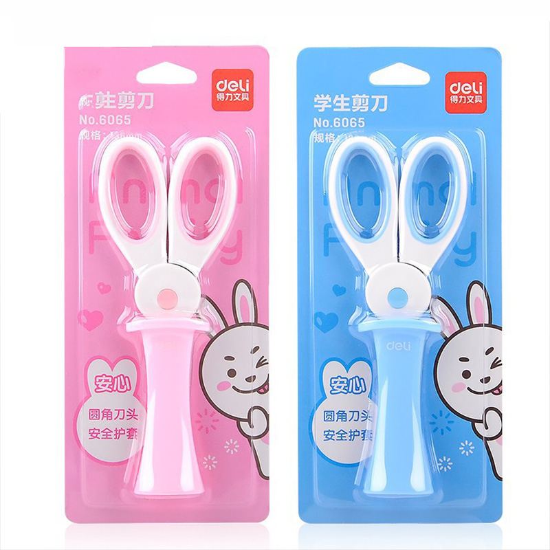 Kids Handmade Scissors Mini Kawii Rabbit Hidden Safety Scissors For Handmade DIY Scrapbooking Scissors Crafts Kids School Supply