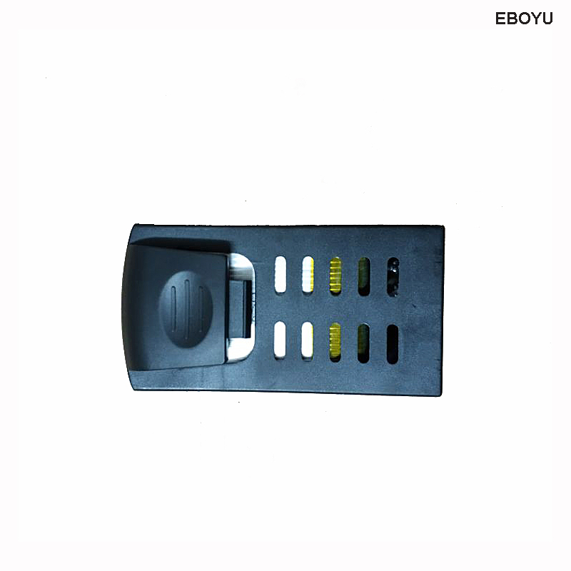 EBOYU (TM)7.4V 850mAh 25C Lipo Battery Spare Part for LH-X28GWF LH-X28WF X28GWF X28WF FPV RC Quadcopter Drone