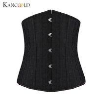 KANCOOLD Sexy Underbust Corset Sexy Corselet Latex Waist Corsets Cincher Women Body Shapewear Gothic Corsets Bustiers