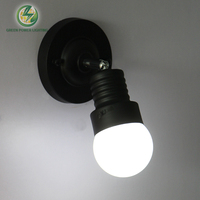 Indoor Lighting Wall Or Ceiling Mounted Loft Led Wall Light Ceiling Light With LED Bulbs Black