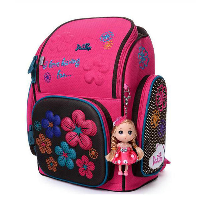 03884d14d8 Delune School Bag Kids Children Backpack High Quality 3D Print School Bags  for Boys Girls Child Bags Primary School Backpacks