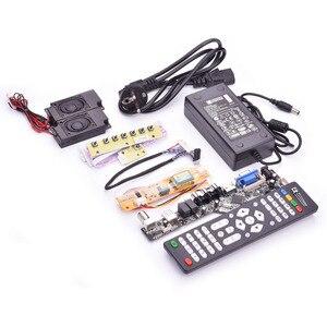 Image 5 - V53 evrensel TV lcd kontrol panosu 10 42 inç lvds sürücü panosu TV VGA AV HDMI USB DS.V53RL.BK tam kiti için LTN154AT01