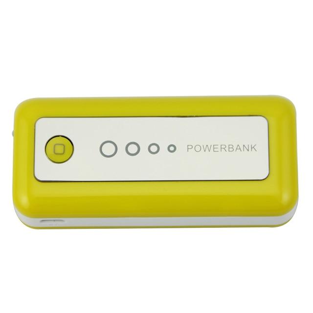 Power Bank 5600 мАч USB Резервного Питания Банк Зарядки для Xiaomi Samsung Iphone Мобильный Телефон