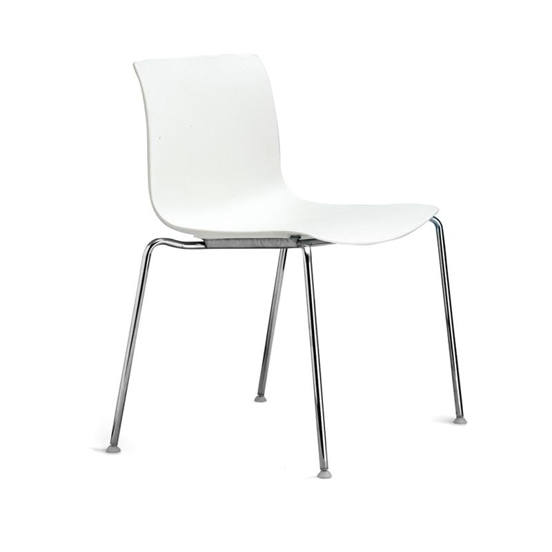 White Plastic Chairs Ergonomic Chair Special Ka Simo Nordic Small Apartment Ikea Leisure Minimalist Fashion Designer